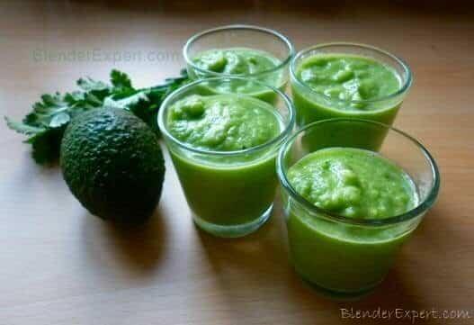 Avocado Smoothie Shots
