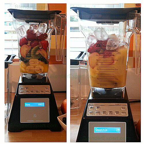 Blendtec blending with automated speed setting