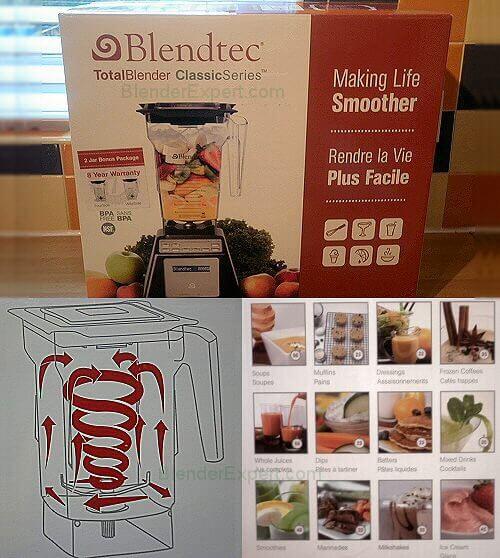 Blendtec Blender Boxed
