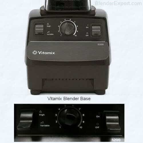 Vitamix blender base