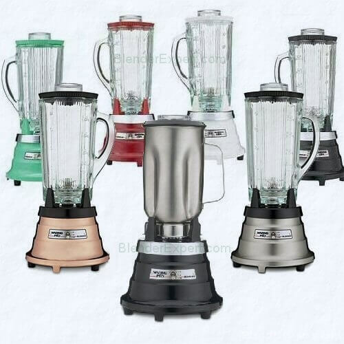 Waring pro blender food and beverage range for home for What brand of blender is used on the chew