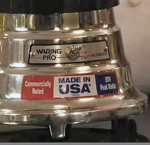 Waring Professional Bar Blender Base