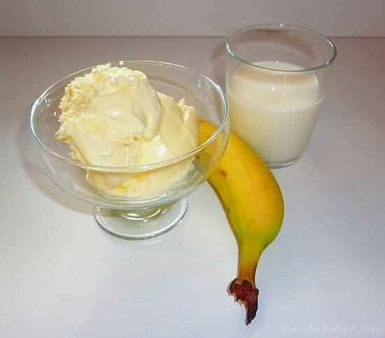 Как сделать коктейль без блендера из банана и