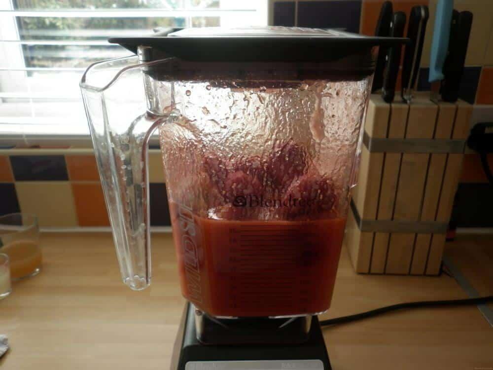 Blended Strawberry Jam