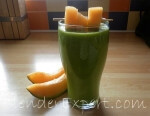 green melon smoothie