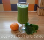 high fiber green smoothie