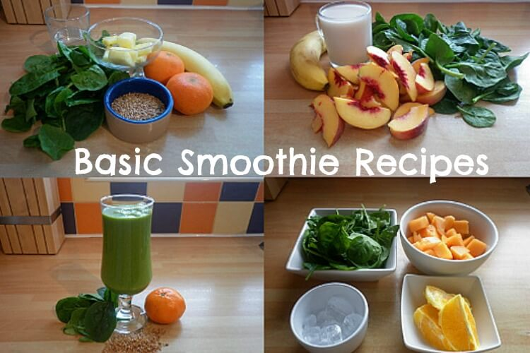 basic smoothie recipes